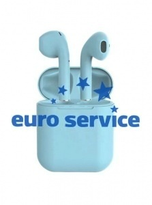 Bluetooth-гарнитура iPhone inPods 12 (голубые)